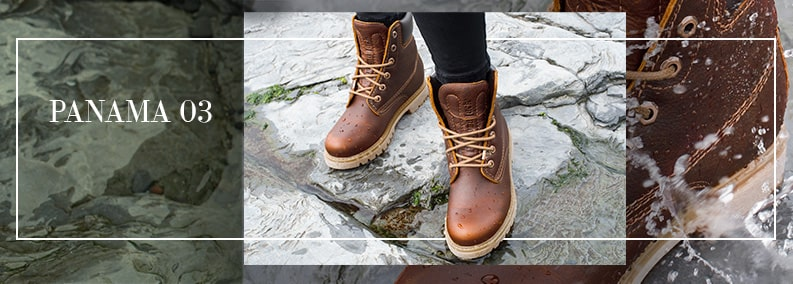 PANAMA 03 Give your look a  touch of leather